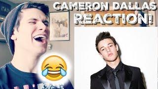 cameron dallas vine compilation reaction