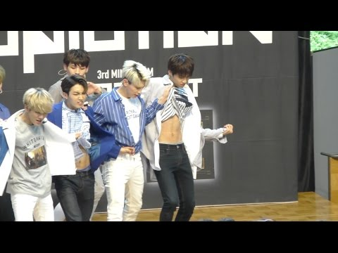 160606 UP10TION 위험해 So, Dangerous 웨이 WEI focus osaka event