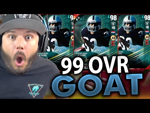 OMG INSANE PULLS!! 99 OVR MARCUS ALLEN - MADDEN 17 ULTIMATE TEAM PACK OPENING
