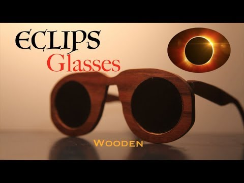 How to make ECLIPSE glasses! | welding glasses