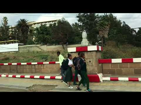 The streets of Addis Ababa, Africa
