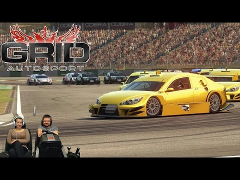 Онлайн заезды с друзьями и подписчиками GRID Autosport на руле Fanatec ClubSport Formula Black