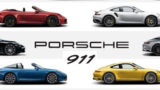 Your Guide To All 21 Different Versions Of The Porsche 911