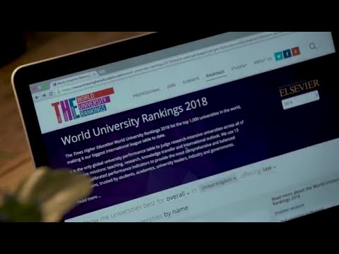 Times Higher Education, World University Rankings With Elsevier's Scopus