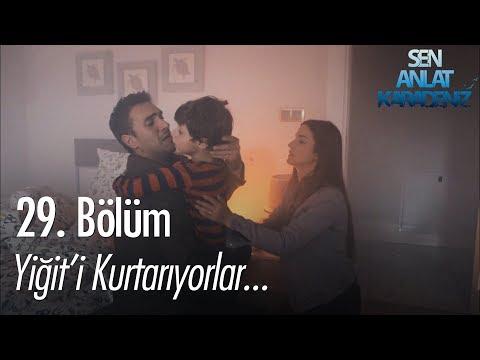Yiğit'i kurtarıyorlar - Sen Anlat Karadeniz 29. Bölüm