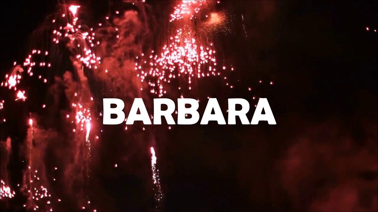 ¡ FELIZ CUMPLEAÑOS BARBARA !