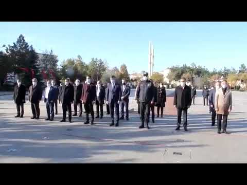 24 Kasım Öğretmenler günü Bafra'da kutlandı.