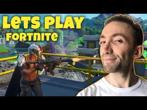 Lets Play Fortnite - گیم پلی فورتنایت و دوباره با این اسکین