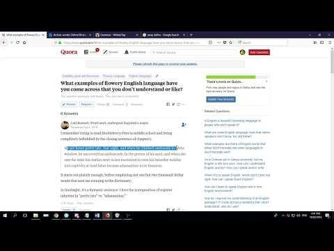 How to write the English IGCSE Article!