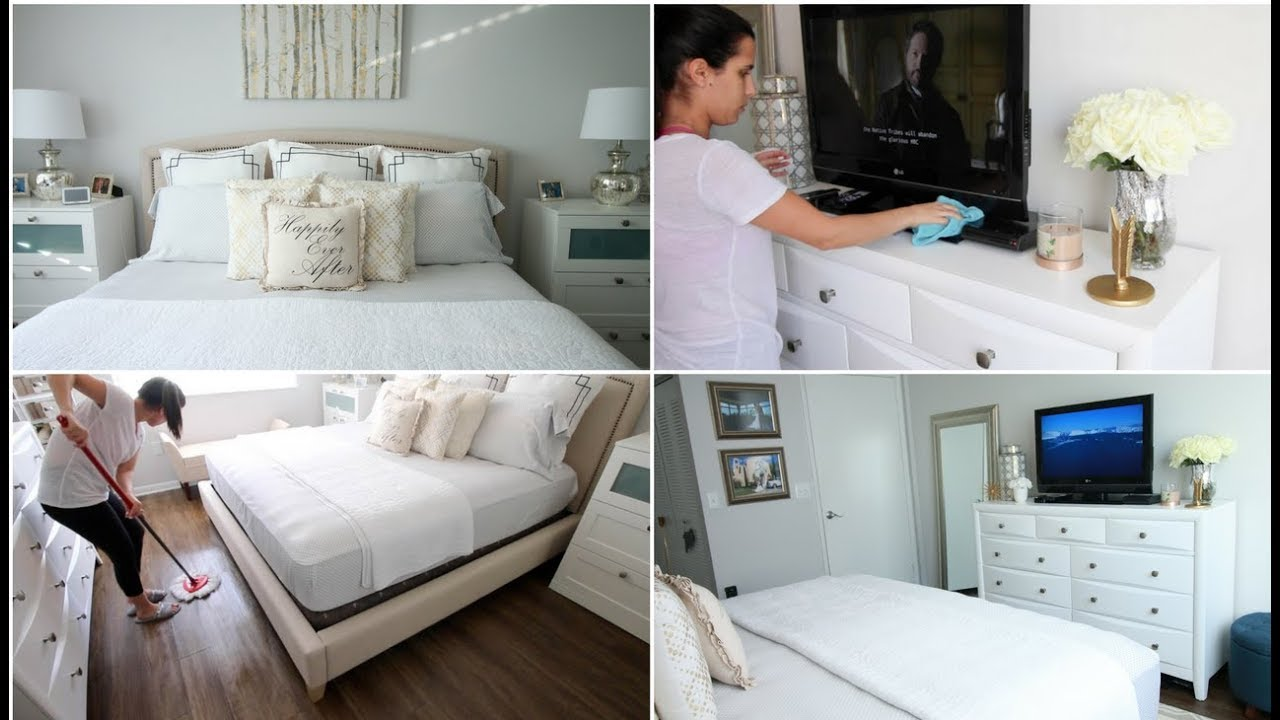 Extreme deep cleaning organizing master bedroom youtube for How to deep clean your bedroom
