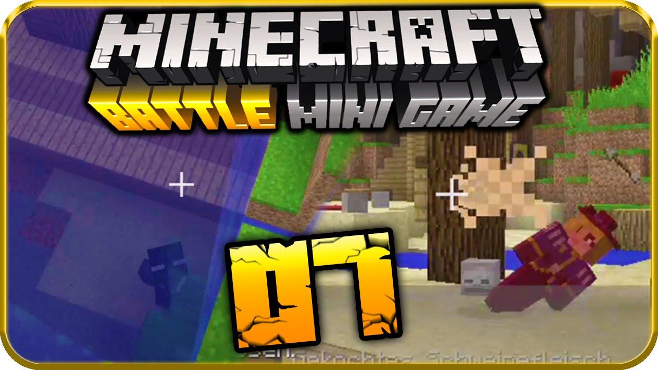 Lets Play MINECRAFT BATTLE MINI GAME Part Der Wii UAbsturzBug - Minecraft nutzliche spielerkopfe