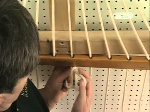 Как сплести гамак из веревки своими руками схема