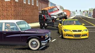 Realistic Crashes #3 (Normal / Low Speed) - BeamNG Drive | CrashBoomPunk