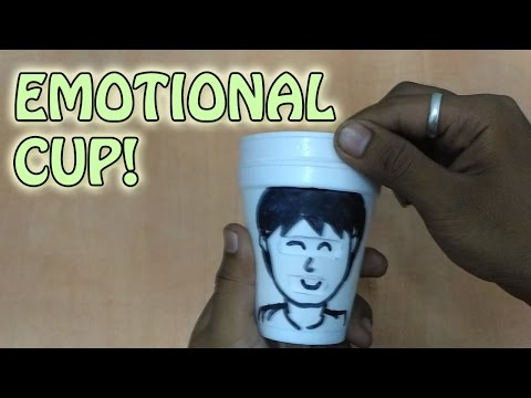 How To Make The Face Changing Cup! | DIY|