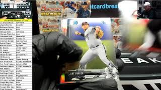 2017 Bowman Draft Baseball Jumbo 8 Box Case PYT #182