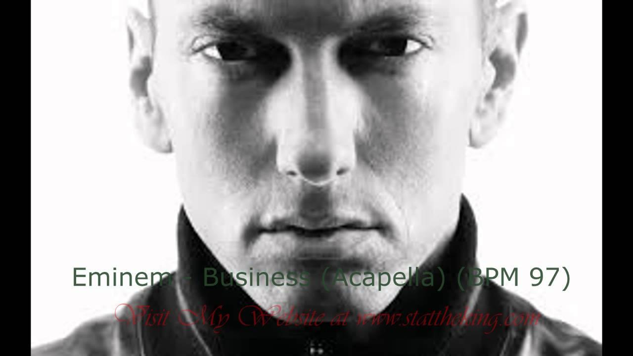 Eminem Business Acapella BPM 97