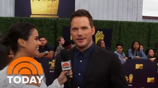 Donnadorable Interviews Chris Pratt, Kim Kardashian And Others At The MTV Movie & TV Awards | TODAY