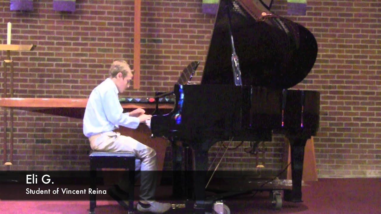 Music to your home 4th annual recital eli g youtube for 93 house music