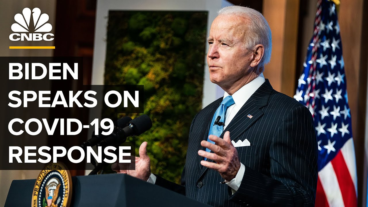 Biden speaks on Covid-19 after CDC loosens mask guidance for vaccinated people — 4/27/21