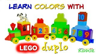 Learn Colors & Numbers With LEGO DUPLO TRAIN