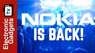 Nokia's Latest Flagship Android Phone At The 2017 Mobile World Congress Barcelona