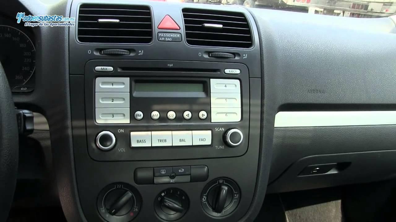 Volkswagen / Bora Style Active 2.5 Lts Tiptronic Q/C / 2008 - YouTube