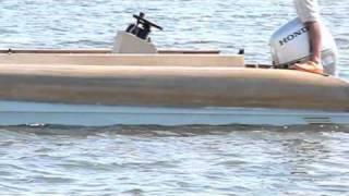 Bonefish Flats Flyer 25 Poling Skiff Amazing Stability Flats Boat