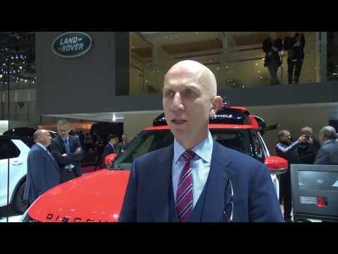 Jaguar Land Rover at Geneva Motor Show 2017 - Interview John Edwards, Managing Director   AutoMotoTV