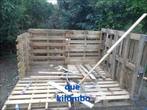Como hacer un cobertizo artesanal youtube for Galpon de madera para jardin