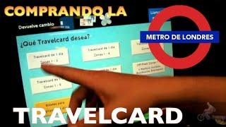 como comprar la travelcard de Londres (MibauldeblogsTV)