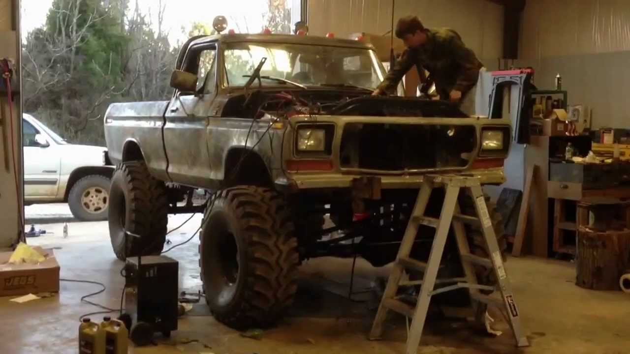 79 Ford 460 Crank Up With Open Headers Youtube