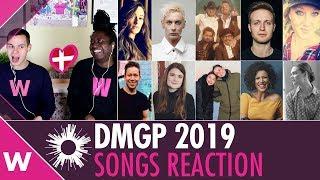 Dansk Melodi Grand Prix 2019 - Denmark All songs reaction