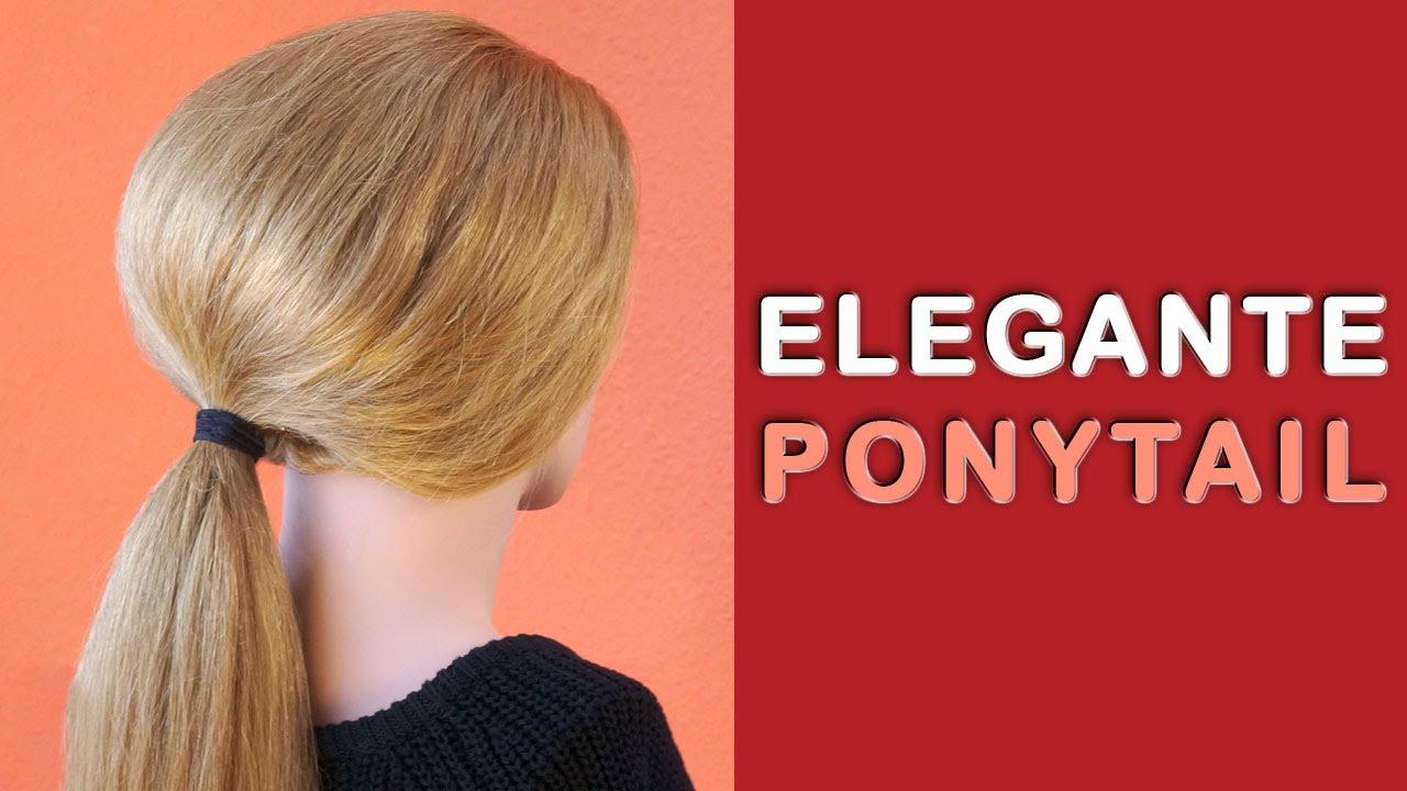 Pferdeschwanz / Frisur Tutorial Einfach schnell Ponytails mit Volumen