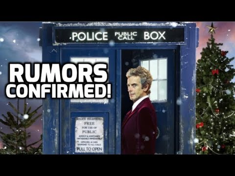 Leaked 'Doctor Who' Christmas Special Photos Confirm Rumors! - YouTube