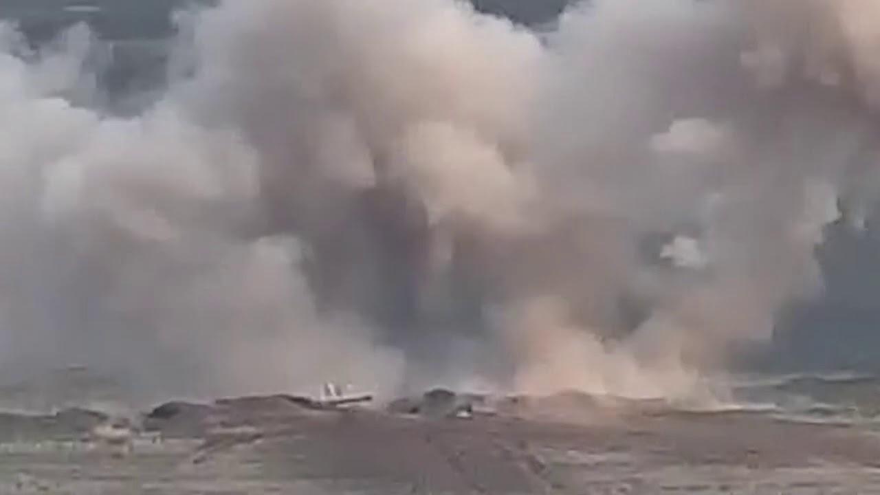 Уничтожение баз и огневых точек азербайджанской армии