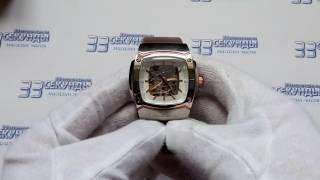 Jacques Lemans 1-1379B часы мужские механические видео обзор