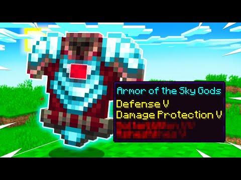 I Stole SECRET Overpowered Minecraft Armor!