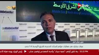 هشام عرفات يشارك في فعاليات مؤتمر السكك الحديدية بالشرق الأوسط 2018 بدبي
