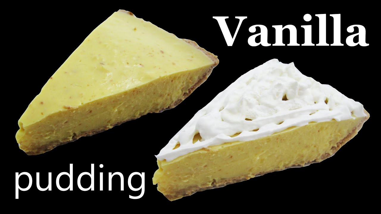 Jello Vanilla Pudding Recipes Vanilla Pudding Recipe Pie Recipe Graham Cracker Crust Dessert Youtube