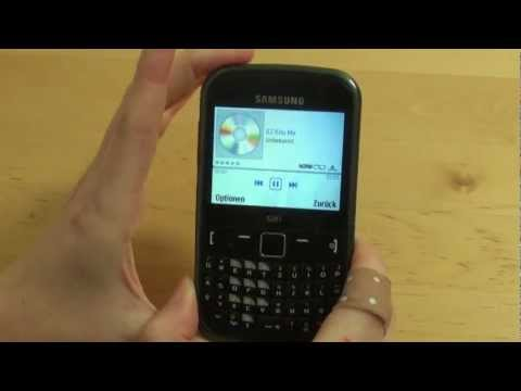 Samsung S3350 Chat 335 Test Multimedia