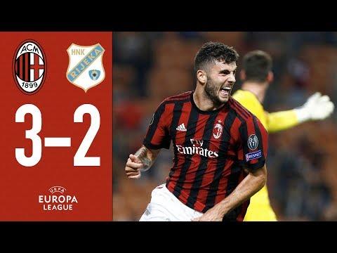Cutrone comes to the rescue: AC Milan-Rijeka 3-2