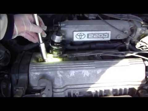 hqdefault how to replace spark plugs toyota camry years 1991 to 2002 youtube 2000 toyota camry spark plug wire diagram at gsmportal.co