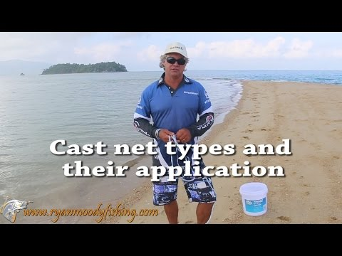 Cast nets for catching bait — Ryan Moody Fishing