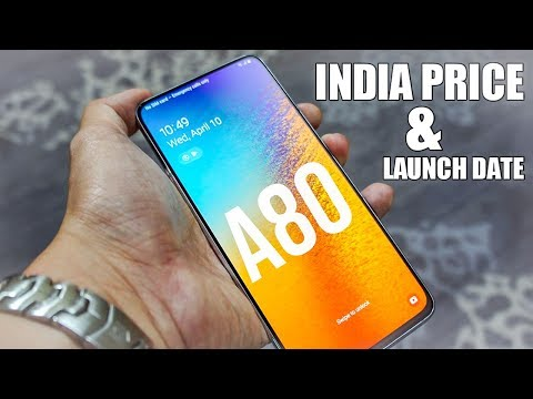 Samsung Galaxy A80 Review   India Launch Date & Indian Price !!