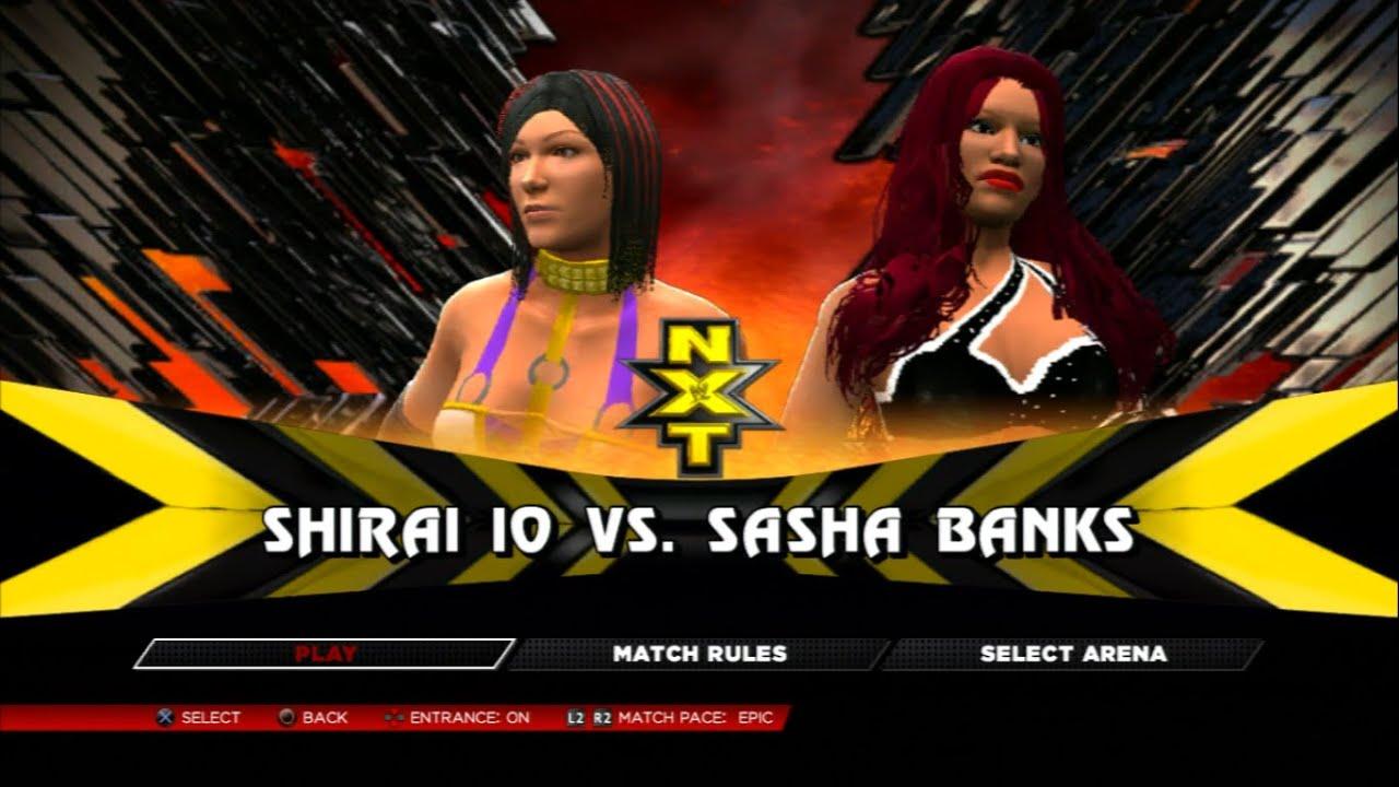 io shirai WWE 2k14 - Sasha Banks V Io Shirai