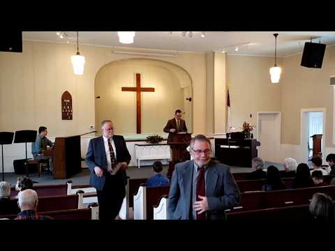 """Sitting or Serving""  Sermon from the North Lebanon Second Baptist Church"
