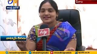 Women Innovative Idea ; Sarees Selling in Whatsapp Through online Marketing ; Chirala of Prakasam