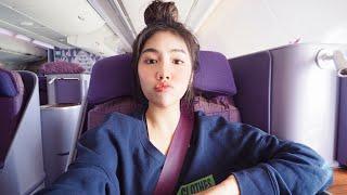 Review: นั่ง Business class การบินไทยครั้งแรก 💺 | Archita Lifestyle