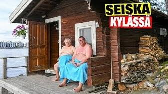 Ulkoministeri Timo Soini löylyissä Paavo Nurmen mökillä: Sauna on kunnon puntari!