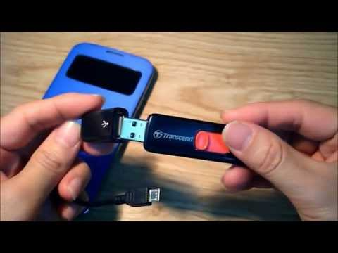 How to use external storage with your Android phone using Micro USB to USB OTG Cable